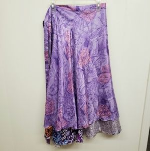 NEW! Lilac Magic Wrap Skirt / Dress
